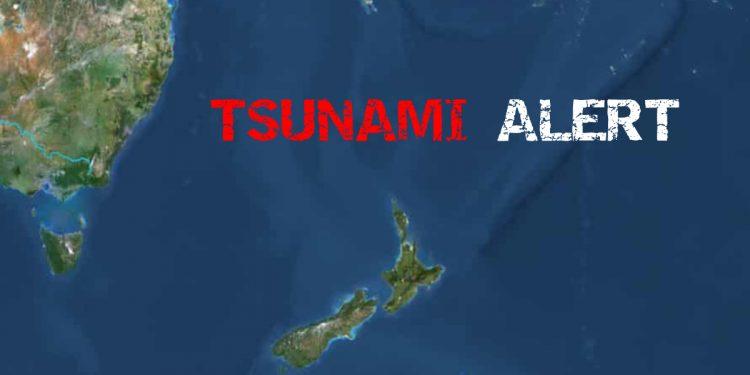 7.7 magnitude earthquake triggers Tsunami in South Pacific 1