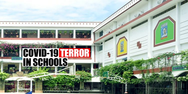 COVID-19 terror raises its ugly head yet again, several Guwahati schools report positive cases 1