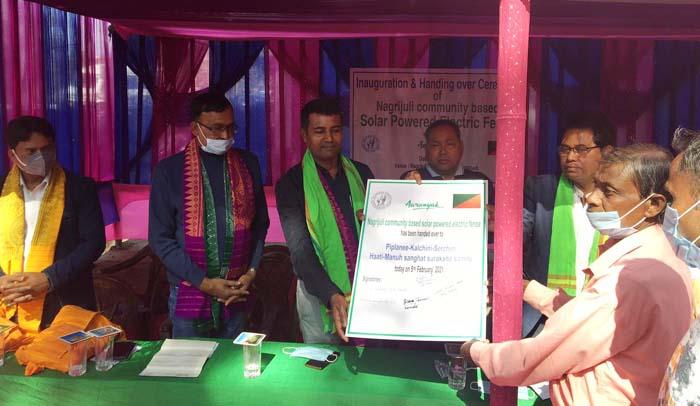Assam: Aaranyak instals 18-km solar-powered fence in Nagrijuli to reduce human-elephant conflict 1