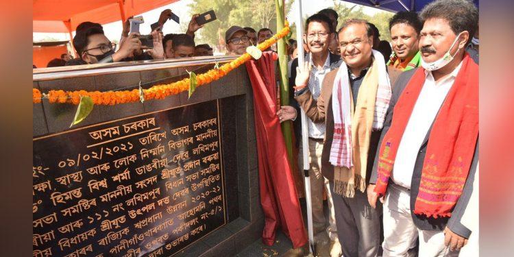 Assam minister Himanta Biswa Sarma