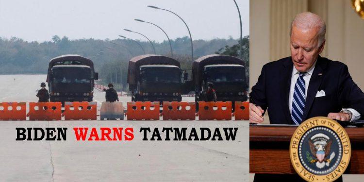 US President Joe Biden threatens sanctions on Myanmar, demands Tatmadaw to cede power 1