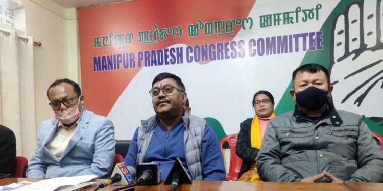 Manipur PCC president Govindas Konthoujam.
