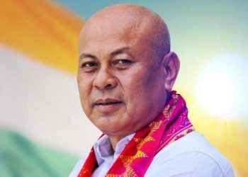 BPF president Hagrama Mohilary.