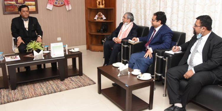Bangladesh envoy holds talks with Assam chief minister 1