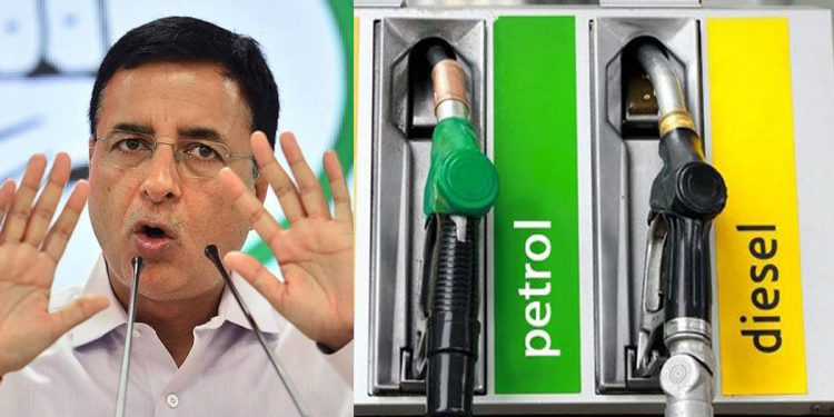 Sky-rocketing prices of petrol and diesel: Congress calls BJP 'Bhayankar Janloot party' 1