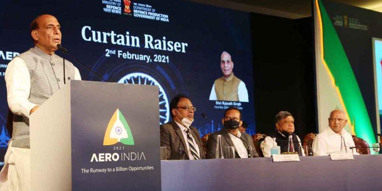 Curtain raiser of Aero India 2021