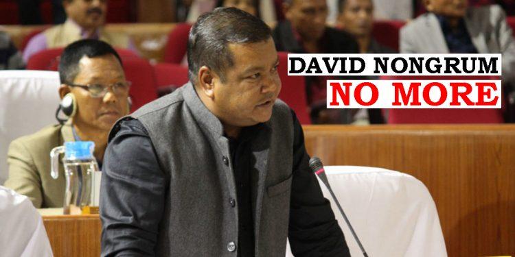 Meghalaya: Congress MLA from Mawryngkneng David Nongrum passes away 1