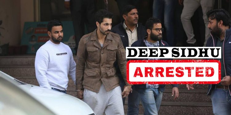 Accused in Delhi Republic Day violence case Deep Sidhu arrested 1