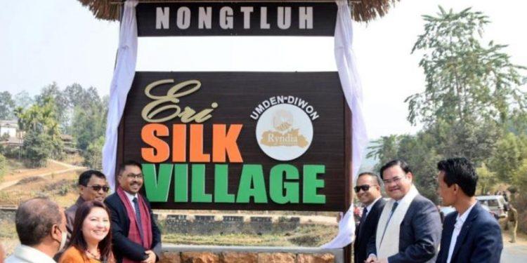 Meghalaya's Umden –Diwon declared as first 'Eri Silk Village' in state 1