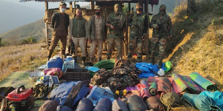 Nagaland: Assam Rifles, State Police bust illegal camp of NSCN-K (Khango) 1