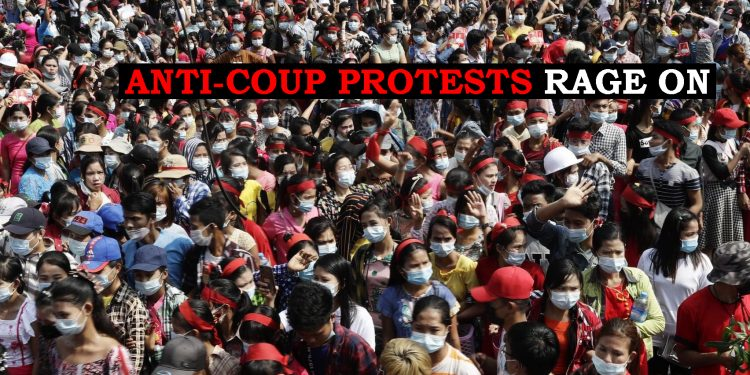 Myanmar anti-coup protests: Military suspends internet, blocks Twitter & Instagram 1