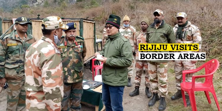 Arunachal Pradesh: Past blunders being cleared, says Union Minister Kiren Rijiju as he reviews border works 1