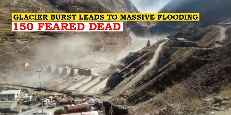 Uttarakhand: Over 150 feared dead as glacier burst results in flash floods, multi-agency rescue operations underway 1