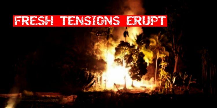 Fresh tensions erupt along Assam-Mizoram border, over 20 houses set ablaze 1