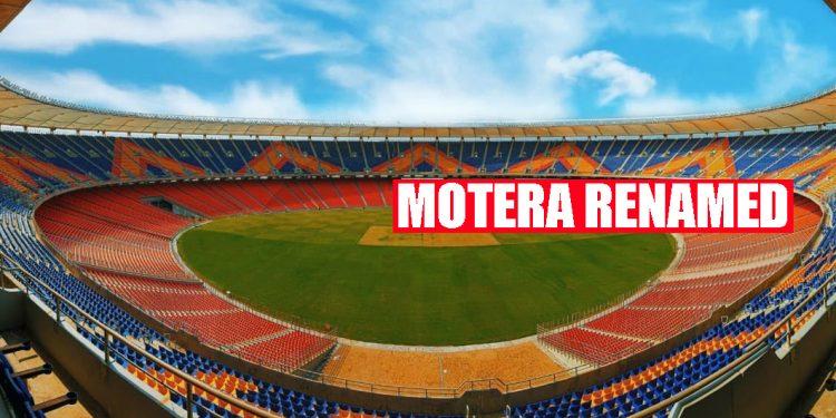 Shocker: Refurbished Motera Stadium renamed as Narendra Modi Stadium 1