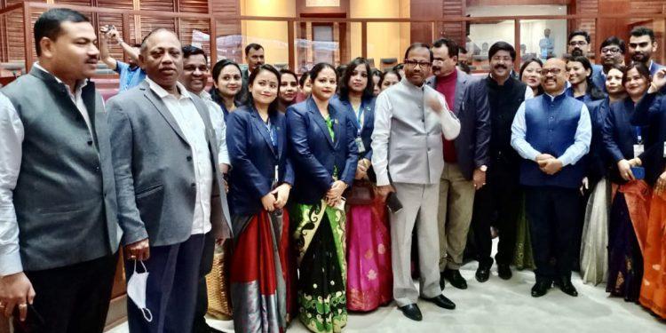 Assam: CM Sarbananda Sonowal, cabinet members visit new Assembly Building 1