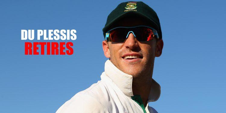 South Africa batsman Faf du Plessis retires from Test cricket 1