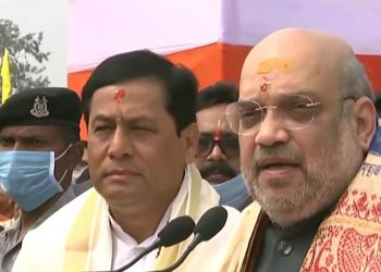 Having failed to solve Assam's flood issue in 5 years, HM Amit Shah says BJP will address issue 1