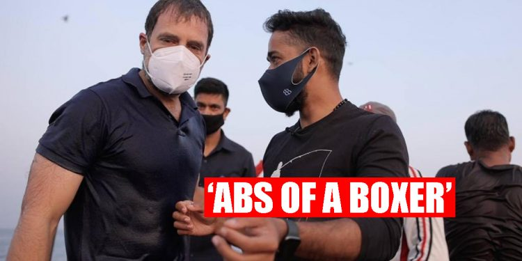 'Rahul Gandhi has got abs also', photo revealing Congress leader's 'Abs of a Boxer' goes viral 1