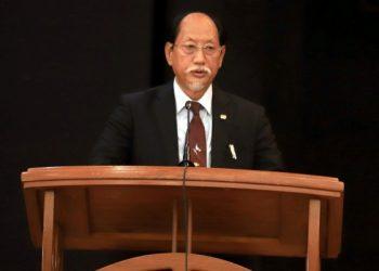 File photo of Nagaland Chief Minister Neiphiu Rio.