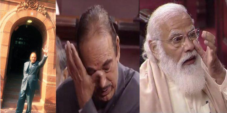 Proud to be Indian Muslim, says Ghulam Nabi Azad as Parliamentarians and PM Narendra Modi bid adieu to Congress stalwart from Rajya Sabha 1