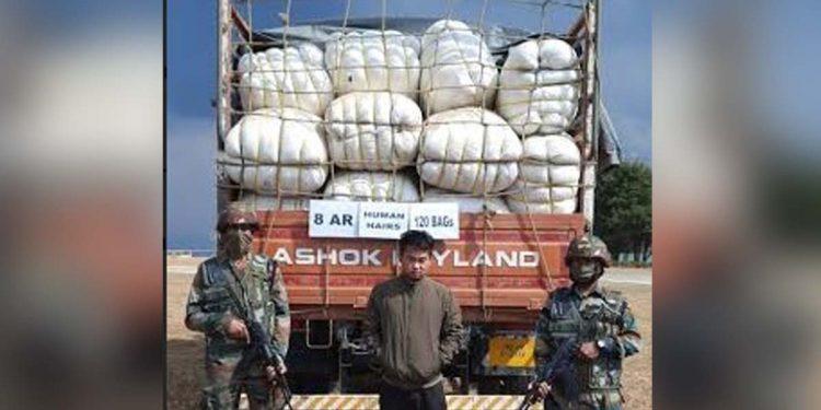 Human hair Assam Rifles
