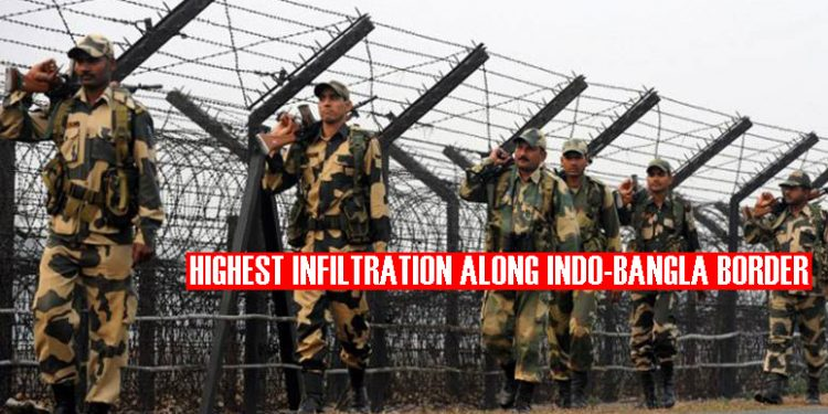 India-Bangladesh border reported highest infiltration in two years: MHA 1