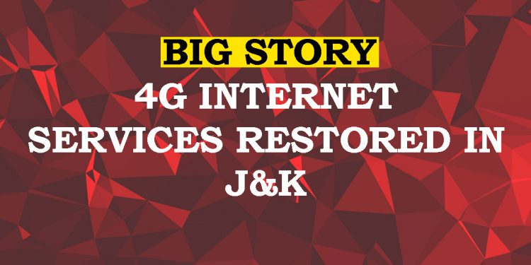 After 18-long months, 4G internet services restored in Jammu and Kashmir 1
