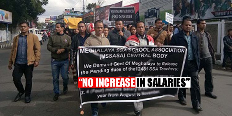 Cannot increase salaries of SSA teachers, says Meghalaya Government 1