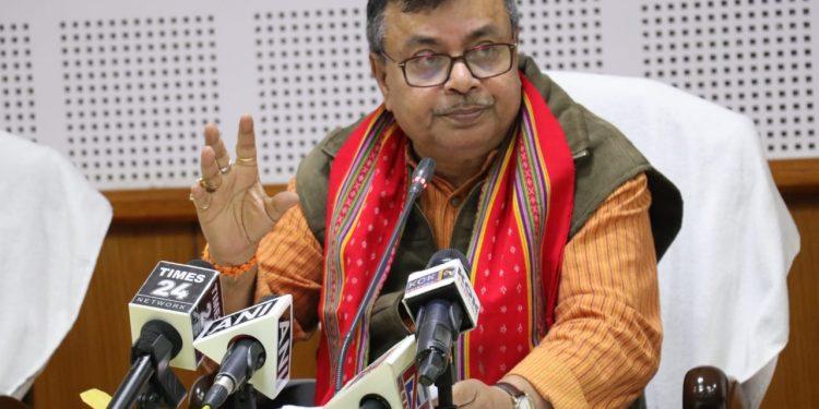 Minister Ratan Lal Nath.