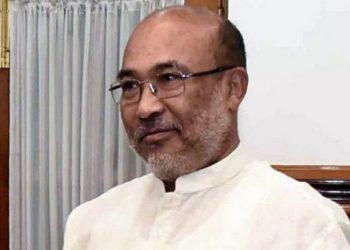 CM N Biren Singh.