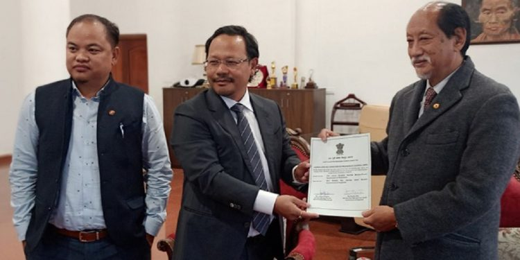 Nagaland CM Neiphiu Rio takes charge as new Chairman of North East Regional Power Committee 1