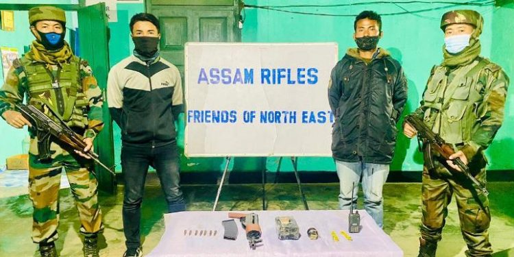 Manipur: One PLA, two KCP militants held in Imphal East 1