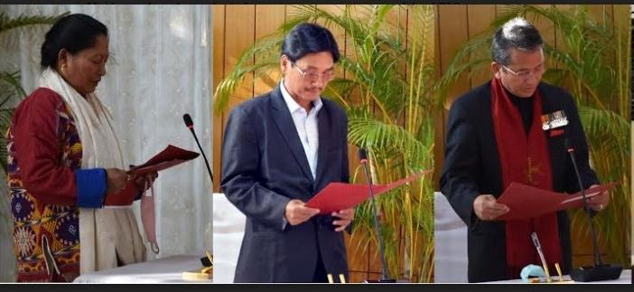 Arunachal Pradesh Public Service Commission member, APIC information commissioners take oath 1