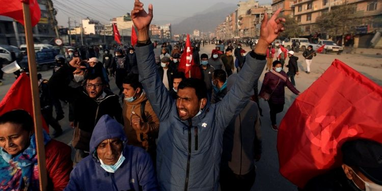 157 Nepal Communist Party protesters held during nationwide strike 1