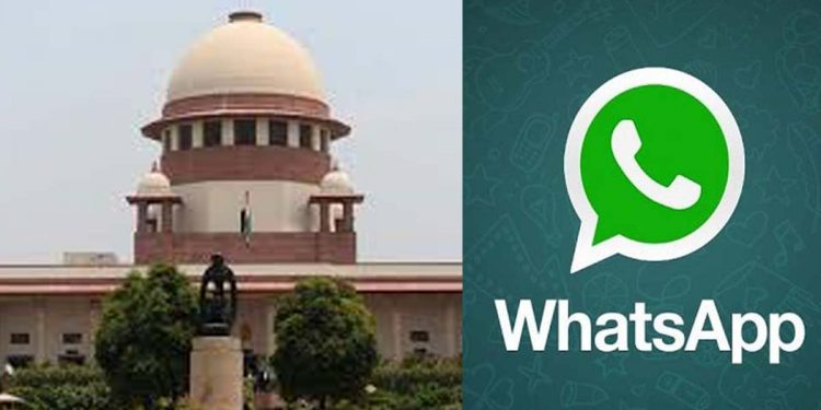 Supreme Court WhatsApp