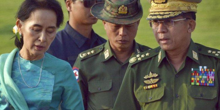 Aung Saan Suu Kyi.