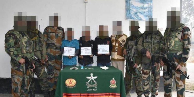 Nagaland: Three NSCN (K) cadres held in Kohima 1