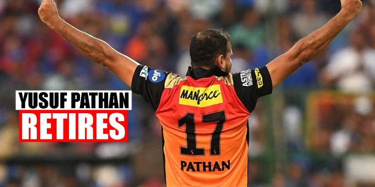 Yusuf Pathan announces retirement from all forms of cricket 1