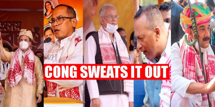Political temperature in Assam heats up: Top Congress leaders sweat it out to woo voters 1