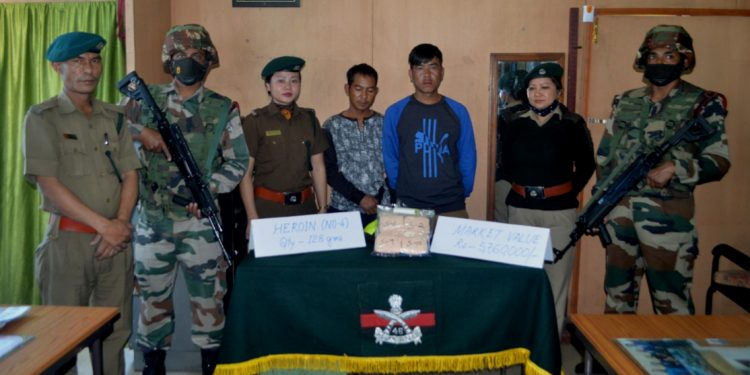 Mizoram: Assam Rifles troopers seize heroin worth over Rs 57 lakh, 2 persons arrested 1