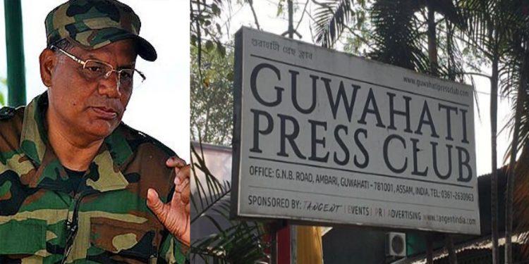 ULFA-I C-in-C Paresh Baruah's press meet row: FIR lodged against Guwahati Press Club president, secretary 1