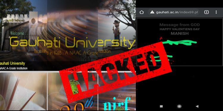 Assam: Gauhati University website hacked again 1