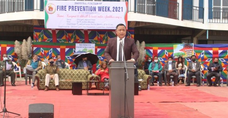 1,300 forest fire incidents reported in Mizoram in 2020 1