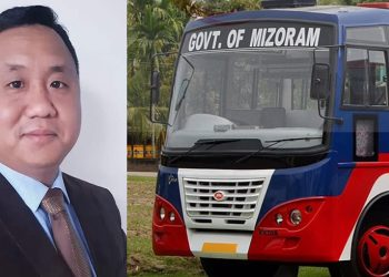 Still awaiting approval for Mizoram-Myanmar bus service: Mizoram Minister Lalnuntluanga 1