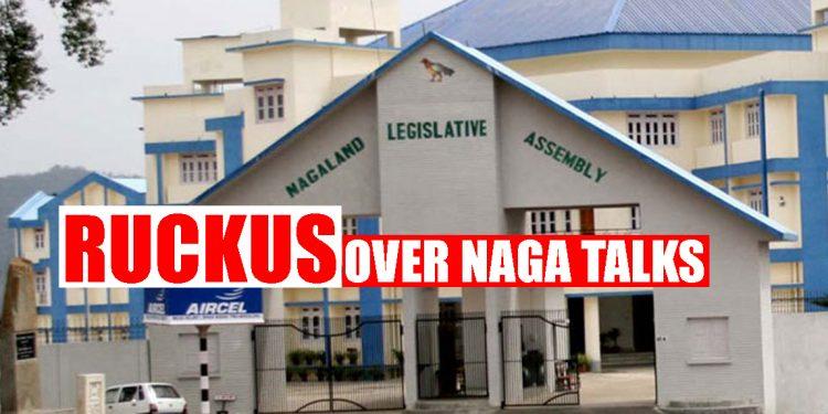 Massive uproar in Nagaland Legislative Assembly over Naga political issue, NPF demands clarification on status of talks 1