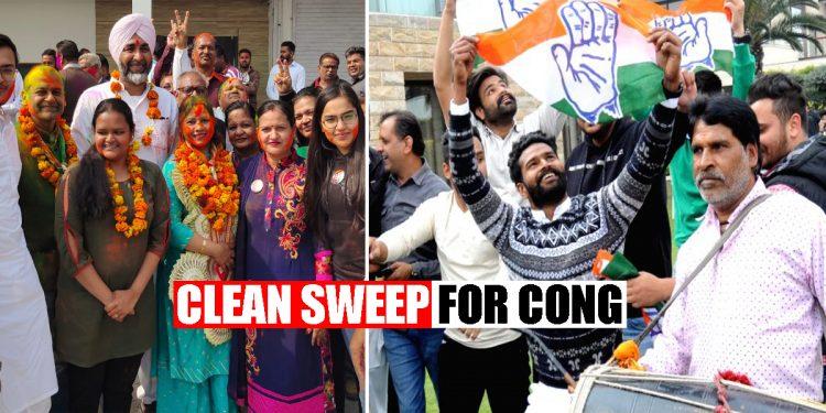 Congress sweeps Punjab civic bodies elections, BJP decimated 1