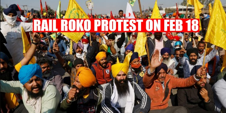 4-hour 'rail roko' protest by farmers on February 18, candlelight march on February 14 to remember Pulwama martyrs 1