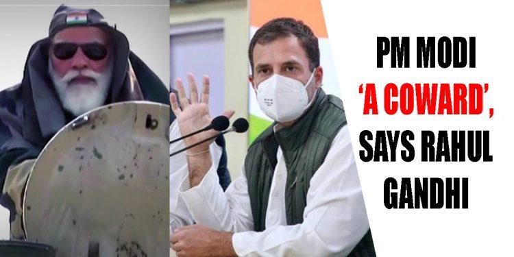 Congress leader Rahul Gandhi calls PM Narendra Modi 'a coward', BJP hits back 1