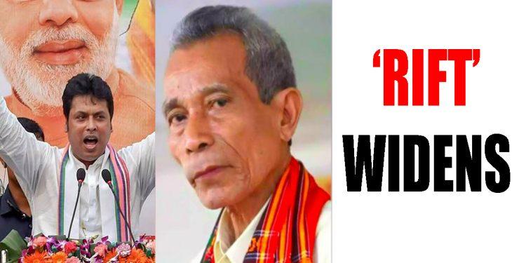 Tripura: 'Rift' in BJP-IPFT alliance, mudslinging begins 1